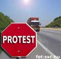 ogólnopolski protest przewoznikow