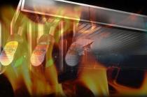 kobieta próbowała podpalić stację benzynową