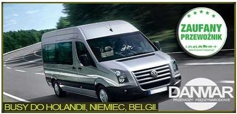 bus belgia glogow
