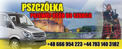 przewóz osób szkocja polska