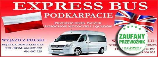 EXPRESS BUS Podkarpackie Przeprowadzki