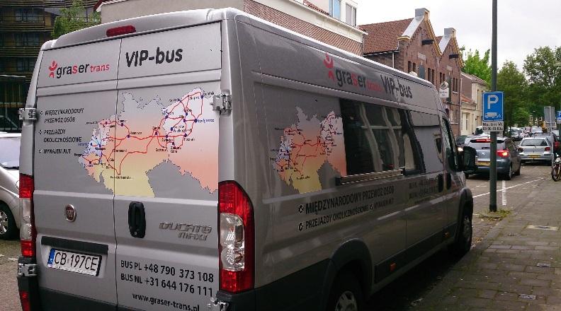 bydgoszcz holandia bus
