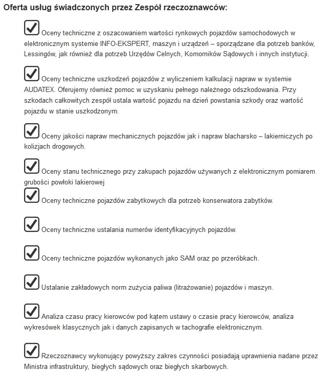 usługi ekspertów motoryzacyjnych w gliwicach