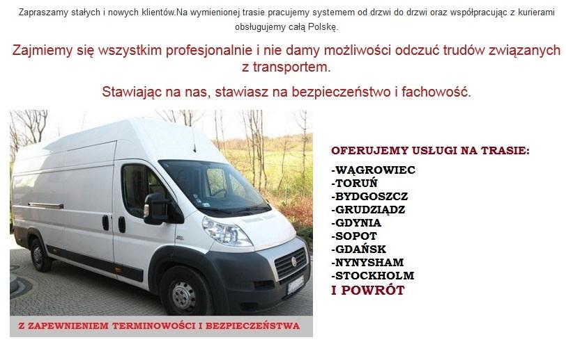 busy szwecja polska bydgoszcz